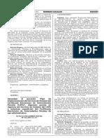 Aprueban el proyecto Plan de Implementación del Servicio de Emisión del Certificado Electrónico de Antecedentes Penales (CAPe) disponen puesta en vigencia del Servicio de Emisión del CAPe y autorizan expedición del Certificado Electrónico de Antecedentes Penales de uso administrativo