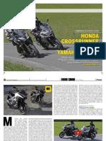 Comparativa Tracer Crossrunner Moto It