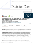 Association of Weight Loss Maintenance and Weight Regain on 4-Year Changes in CVD Risk Factors_ the Action for Health in Diabetes Clinical Trial _ Diabetes Care