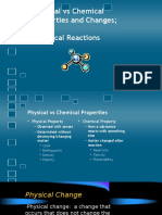 physical chemical reactions pp