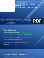A Practical Implementation of Face Detection by Using Matlab Cascade Object Detector