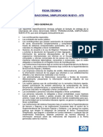 Ficha Técnica de Anexo Transaccional