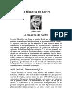 La Filosofía de Sartre