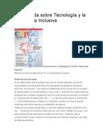 Una Mirada Sobre Tecnología y La Pedagogía Inclusiva