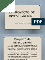 El Proyecto de Investig. Capit i El Problema (1)