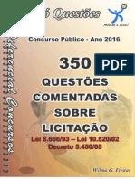 350 questoes comentadas de lei8666/93