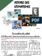 Histoire Automates