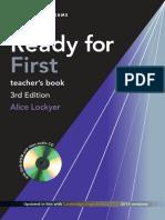 Ready for First Teacher's Book Unit 1-6