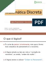 01 Lógica Proposicional - Conceitos Básicos