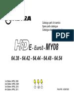ASTRA HD8E E.3 MY08 6X4 PARTS BOOK