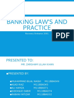 Banking Law's and Practice
