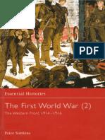 Osprey - Essential Histories 014 - The First World War (2) - Western Front 1914-16