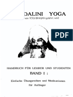 Bhajan, Yogi - Kundalini Yoga - Übungen Und Meditationen Für Anfänger