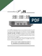 PA2000 Manual