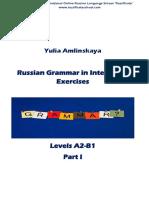 Russian Grammar in Interactive Exercises 1