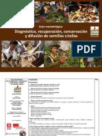 Guía Metodológica Diagnóstico, Recuperación, Conservación y Difusión de Semillas Criollas