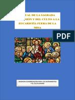 Ritual de La Sagrada Comunión y Del Culto a La Eucaristía Fuera de La Misa