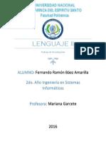 Lenguaje - Aplicaciones Para Windows