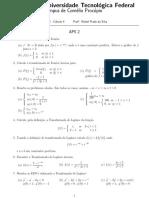 Fourier Laplace