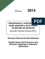 Gpc Alimentacion y Nutrición Mujer Emb.