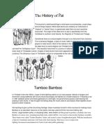 1 - Steel Drum History & Classroom Activities
