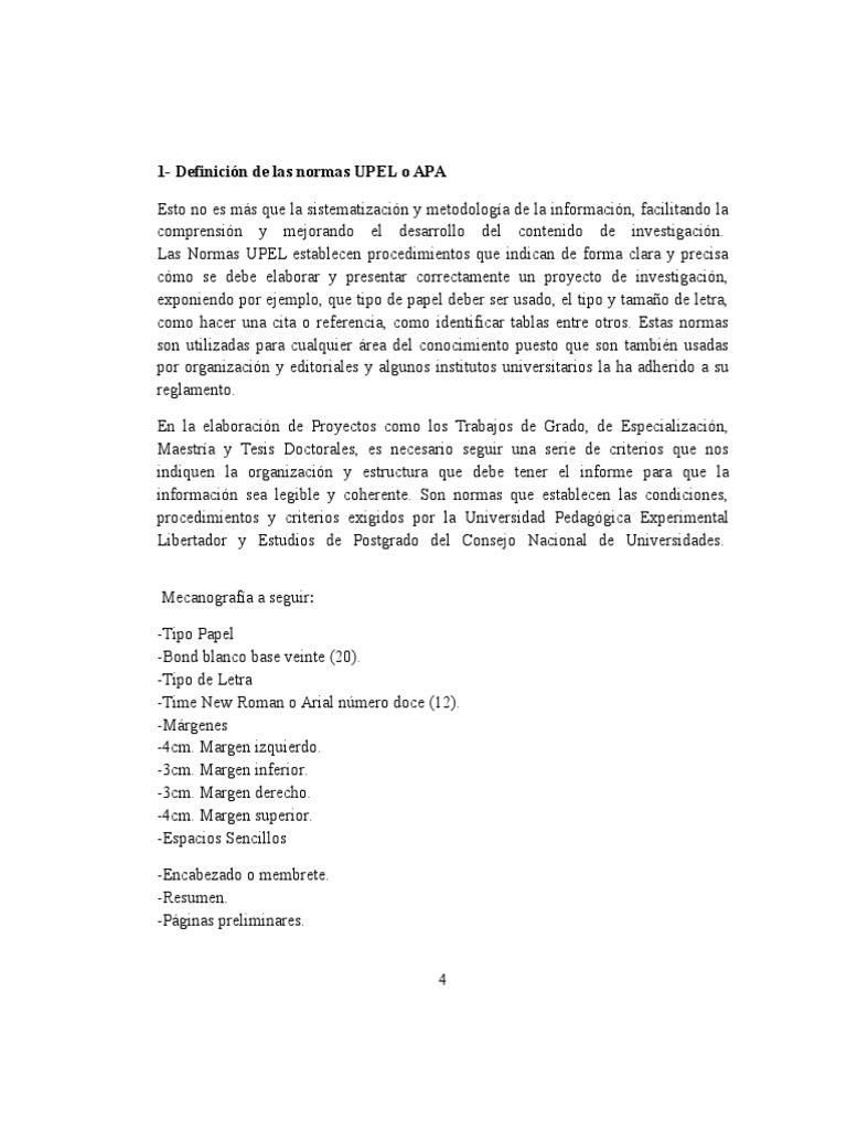 NORMAS UPEL GENESISdocx