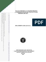 Dayasaing Dan Permintaan Ekspor Produk Biofarmaka Indonesia Di Negara Tujuan Utama Periode 2003-2012