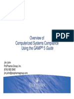 GAMP 5 Overview