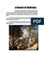 The Bacchanals of Andrians
