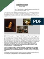 """""""Las meninas"""" de Diego Velázquez. Una visión política de la pintura."""