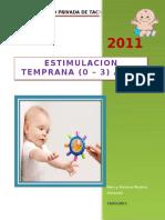60411277 Estimulacion Temprana