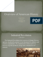 Overview of American History