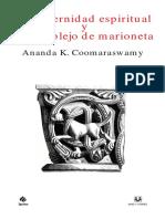 Coomaraswamy La Paternidad Espiritual y El Complejo de Marioneta.pdf