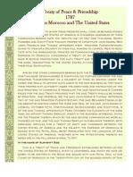 Treaty of Peace and Friendship 1787