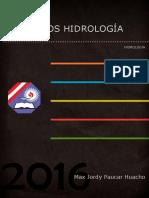 EJERCICIOS HIDROLOGÍA