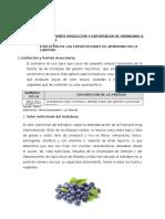 Evolucion Arandano Peru