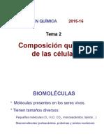 Tema 2 Composición Química de Las Células
