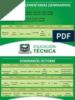 Guías complementarias (Seminarios) octubre 2016
