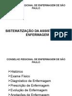 SISTEMATIZAÇÃO  DA  ASSISTÊNCIAanotação.ppt