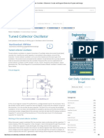 Tuned Collector Oscillator – Electronic Circuits and Diagram-Electronics Projects and Design