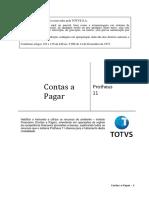 Contas a Pagar P11 v1.3[1]