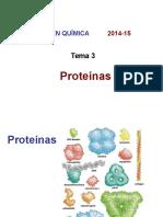 Tema 3 Proteínas