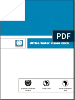 African Water Vision 2025