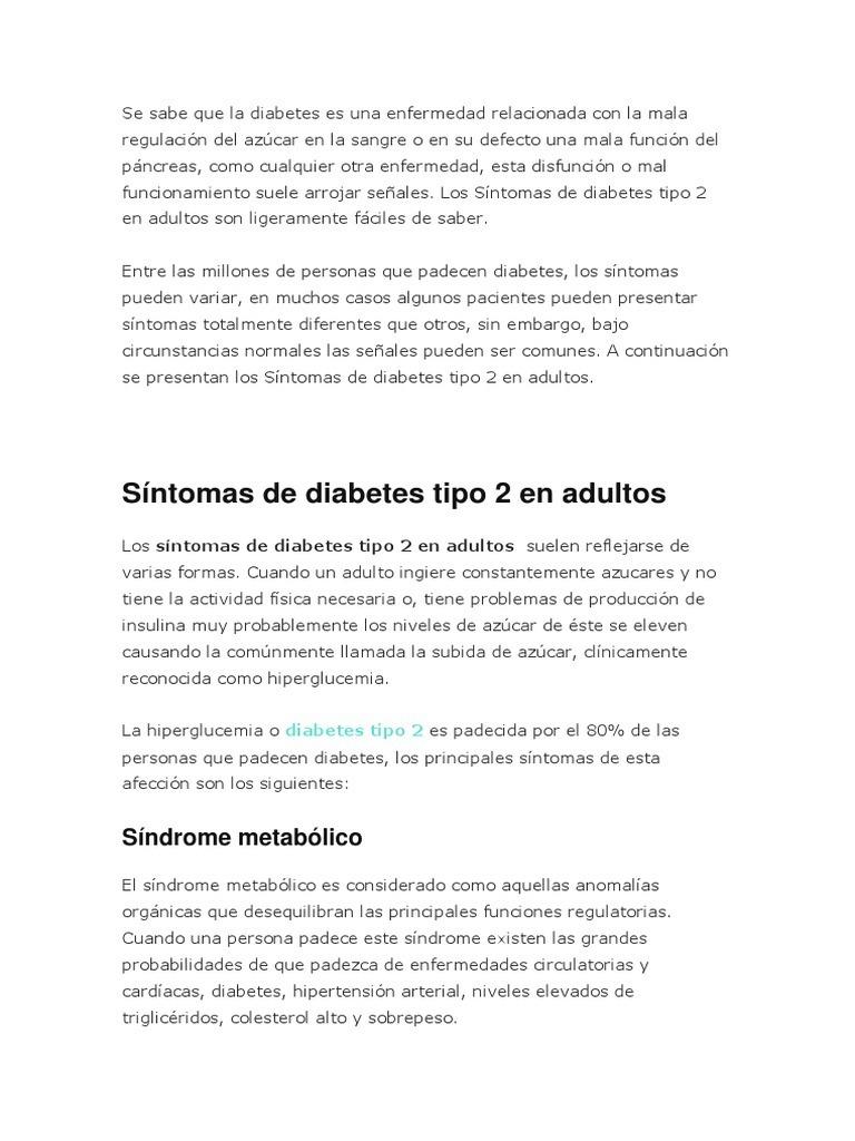 el colesterol alto sintomas de diabetes
