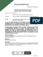 Circular DCPV-OT-104 Modulo Generico PCM