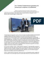 Giuseppe Lasco Terna Cantieri Trasparenti PerGarantire Maggiore Sicurezza Per Imprese e Collettività