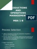 Operations Management Presentation Rev. 2
