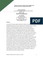 """""""Restauración agrícola en los Andes"""