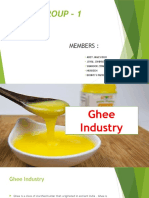 Marketing Research Ghee