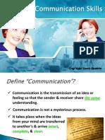 Communication Skills Session1 ACA Dec.09